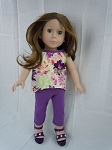 Flower Outfit by BFF Doll Company