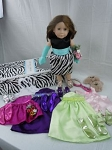 BFF Hanna Doll Gift Package One by BFF Doll Company