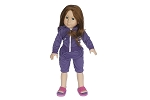 Purple Jogging Suit By BFF Doll Company