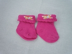 Pink Socks with Butterflies by BFF Doll Company -SOLD OUT