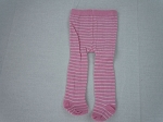 Pink Small Stripe Tights by BFF Doll Company