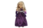 Purple Prom Dress by BFF Doll Company