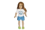 Peace Shirt and Shorts by BFF Doll Company